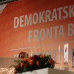 Javna tribina DF, Demokratska fronta