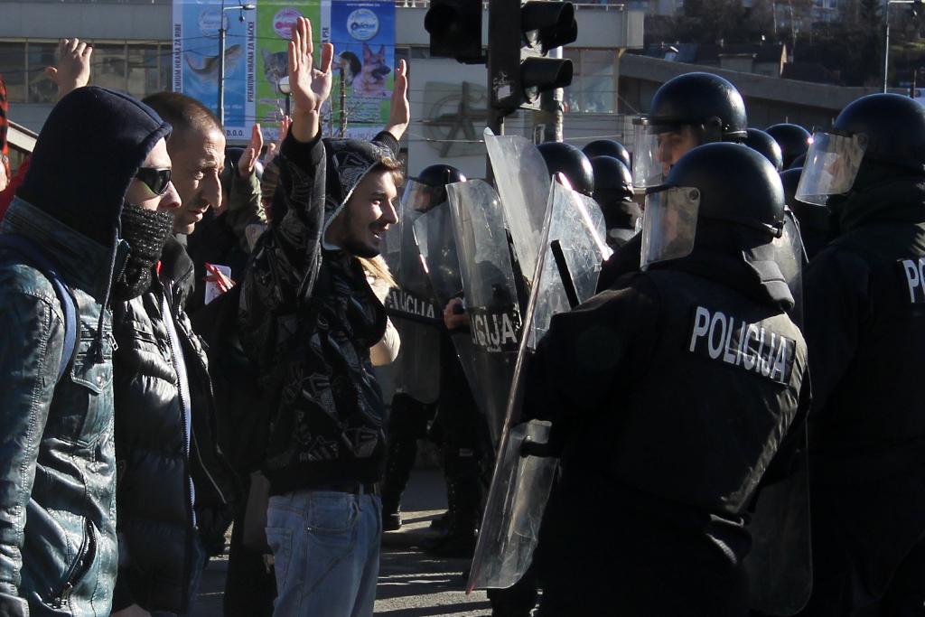 protesti, foto dana