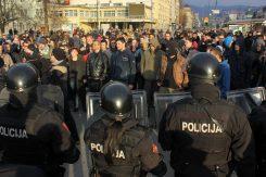 Protesti poderske tuzli