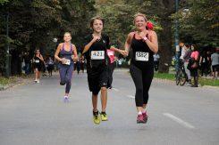Djevojke na trčanju, trčanje