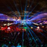 Split, 110714. Prvi dan Ultra Europe Festivala na Poljudu. Na fotografiji: Detalj sa prve veceri. Foto: Zvonimir Barisin / CROPIX