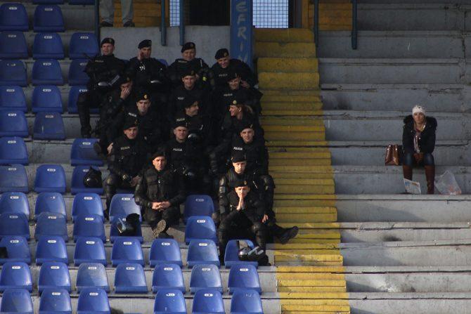 Policija na utakmici
