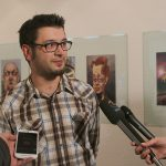 Jedna tura karikatura Damir Balic
