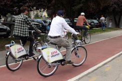 Biciklisti, biciklistička staza