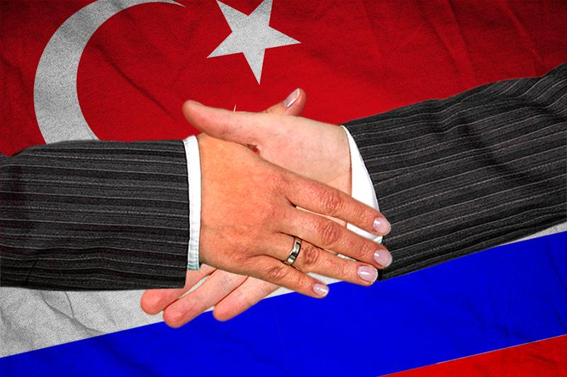 Rusija Turska Rukovanje