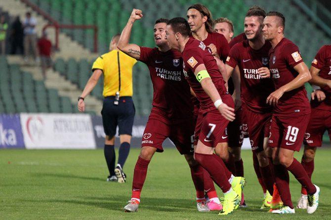 FK Sarajevo, slavlje
