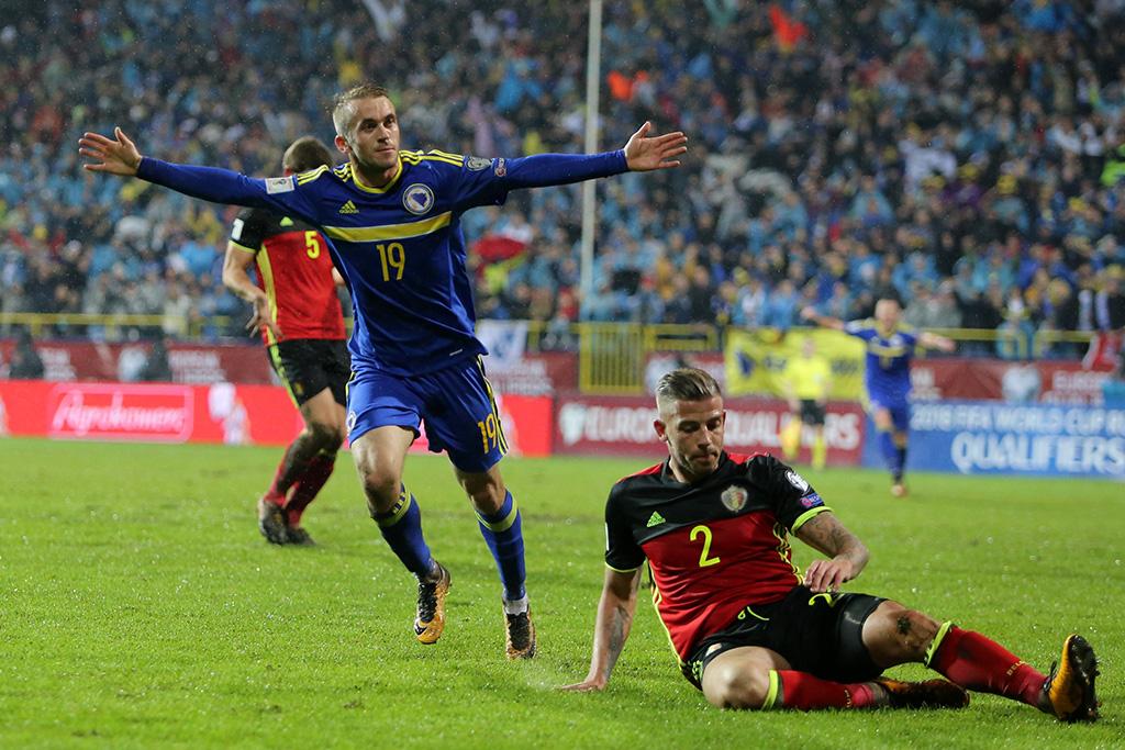 BiH - Belgija, Edin Višća