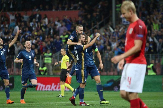 Reprezentacija BiH - Austrija