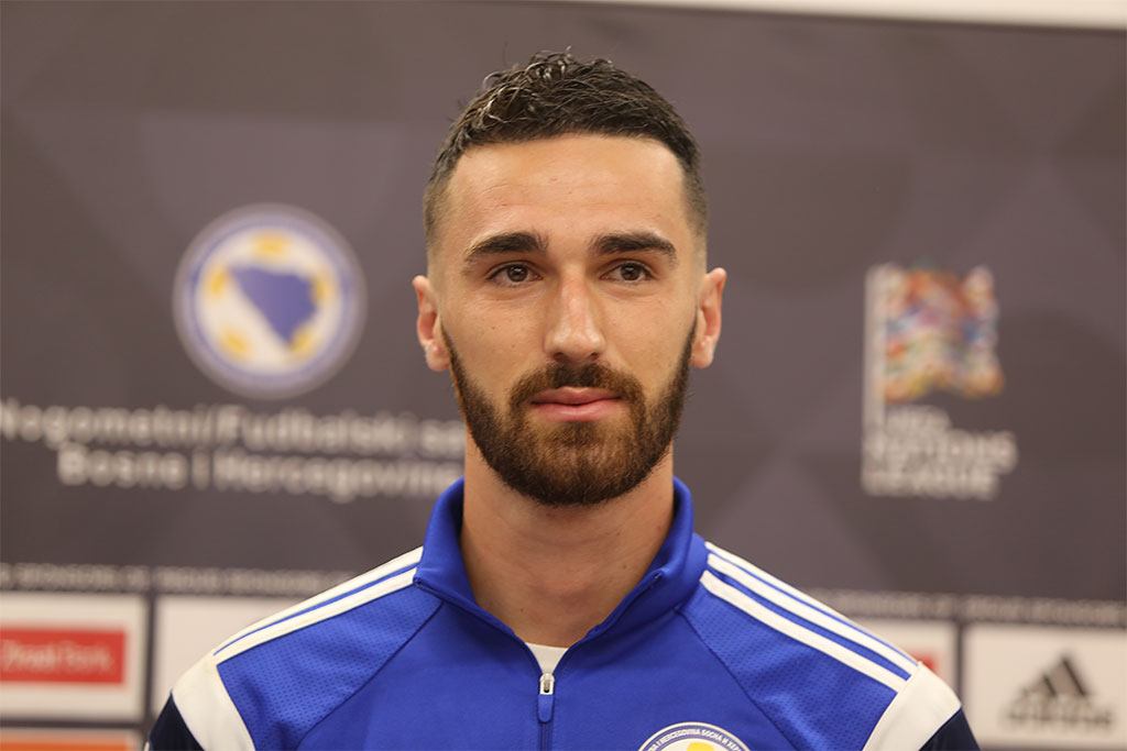 Reprezentacija BiH, Riad Baljić, Press