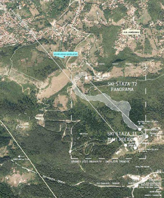 Skijaška staza Trebević