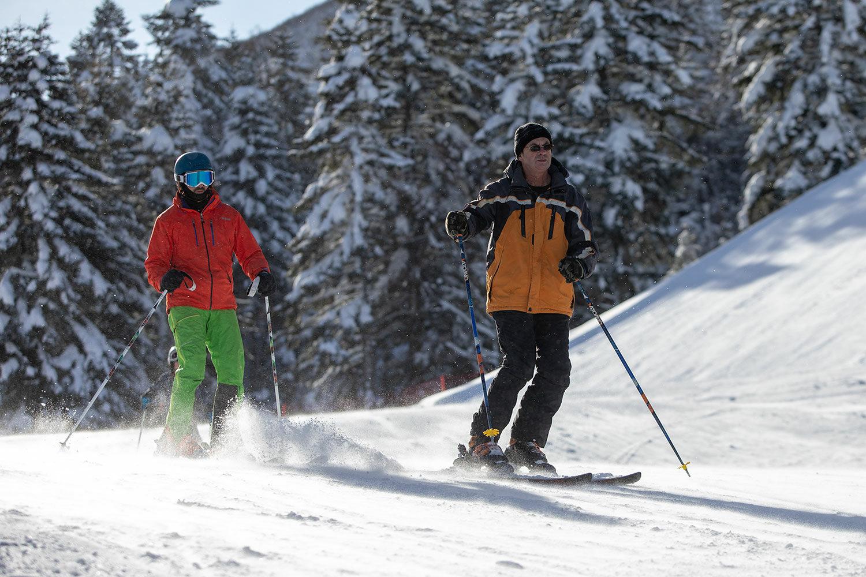 Bjelašnica skijaši, Skijanje